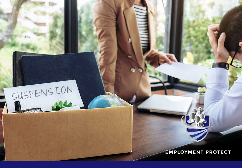 EMPLOYERS MUST NOW THINK TWICE WHEN SUSPENDING